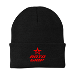 Roto Grip Folding Beanie - Black