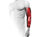 Mens Compression Sleeve Diamond Red