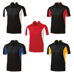 Side Blocked Micropique Sport-Wick® Polo - Roto Grip Customize