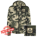 Independent Camo Hooded Zip