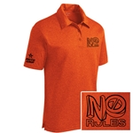 No Rules Polo Deep Orange