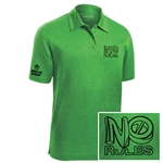 No Rules Pearl Polo Green