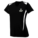 Ladies Premier V-neck Black
