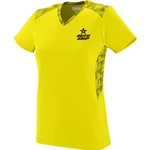 Ladies Vigorous Jersey Yellow