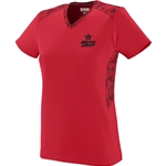 Ladies Vigorous Jersey Red