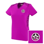 NEW Ladies Vigorous V-neck Pink