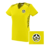 NEW Ladies Vigorous V-neck Yellow