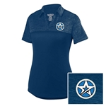 Ladies Shadow Polo Navy