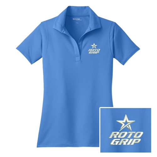 Ladies Steady Polo Blue