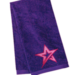 Velour Towel Roto Star Purple/Pink