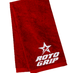 Roto Grip Velour Towel Red/White