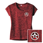 Ladies Electrify Sporty Tee Red