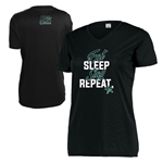 RG Women Eat Sleep V-Neck