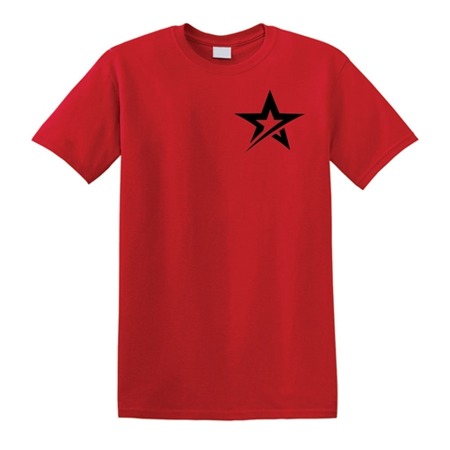 Roto Star T-shirt - Red