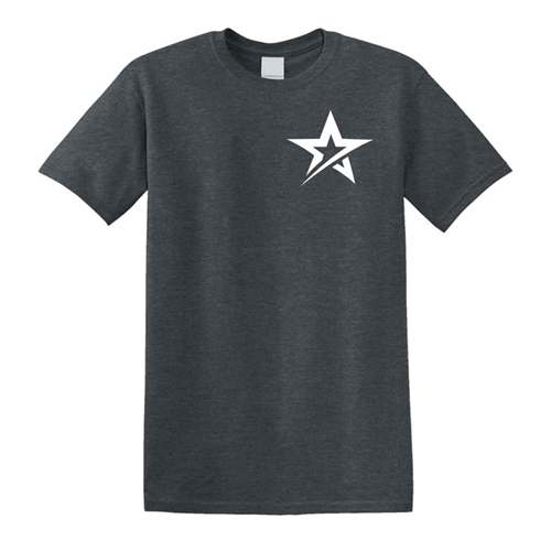 Roto Star T-shirt - Dark Heather